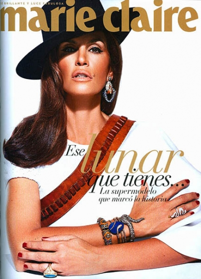 Cindy Crawford Wearing Turquoise Ring with Antique White Patina.jpg
