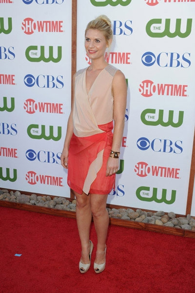 arrives at the TCA Party for CBS, The CW and Showtime held at The Pagoda on August 3, 2011 in Beverly Hills, California.