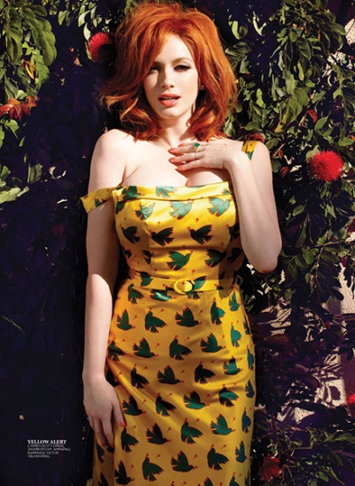 Flare Magazine featuring VV ring worn by Christina Hendricks 2013 (2).jpg