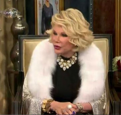Joan Rivers wearing Victor Velyan Platinum Bracelet.JPG